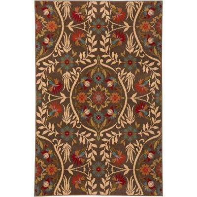 Amicalola Saddle 5 ft. x 8 ft. Indoor Area Rug
