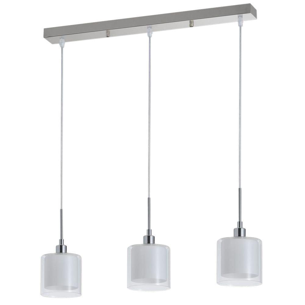 Limbourg Collection 3-Light Chrome Pendant