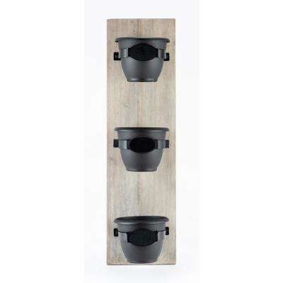 Lead Free Vertical Garden Planters Planters The Home Depot