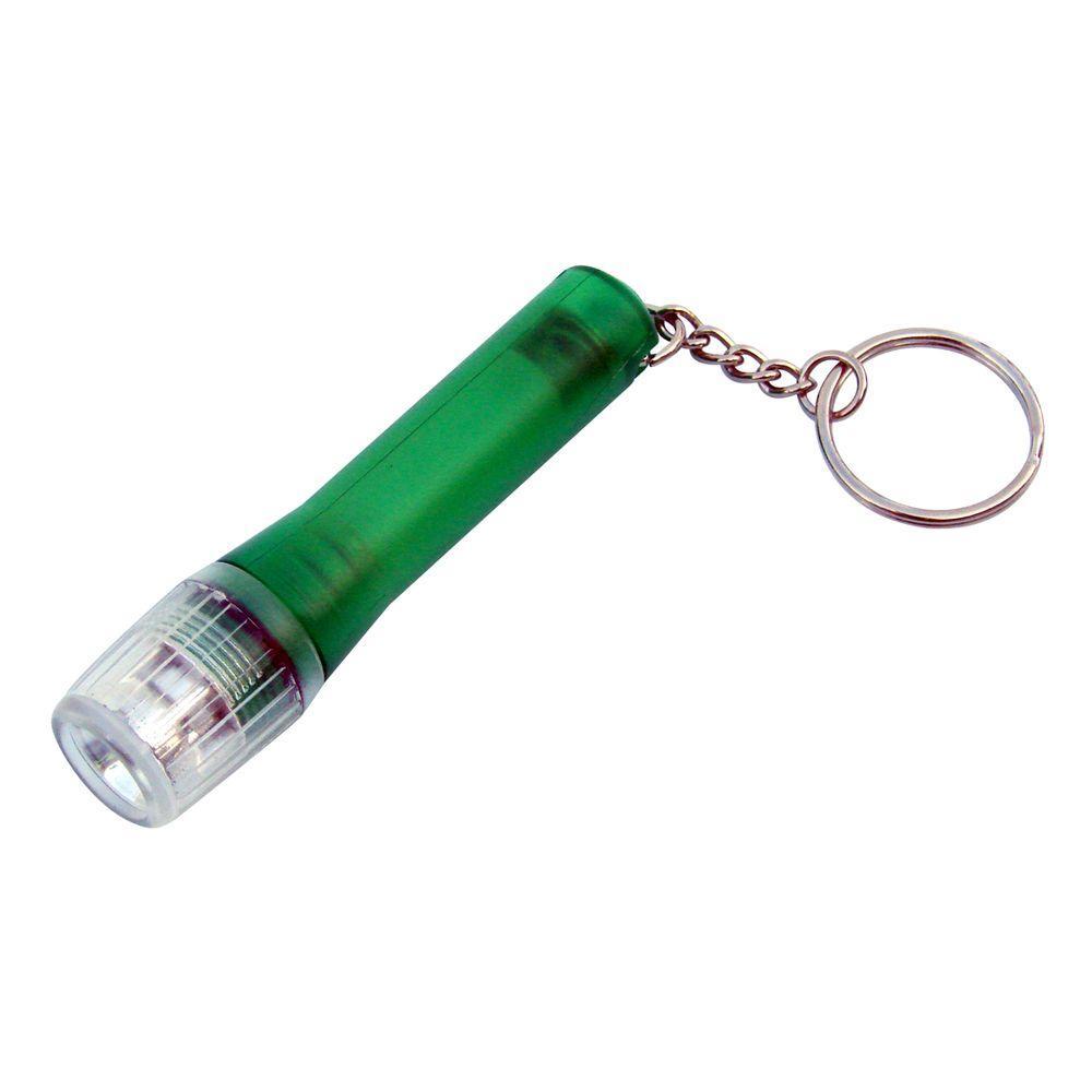 Button Cell Keychain LED Flashlight