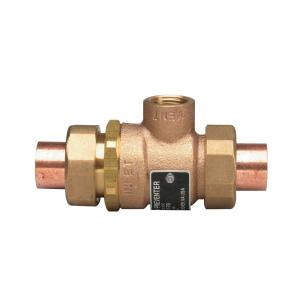 Watts 1/2 in  Cast-Brass SWT x SWT Dual Check Vacuum Breaker with Solder  Ends-9DSM3 - The Home Depot