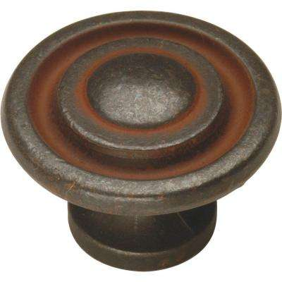 Manchester 1 3/8 In. Rustic Iron Cabinet Knob