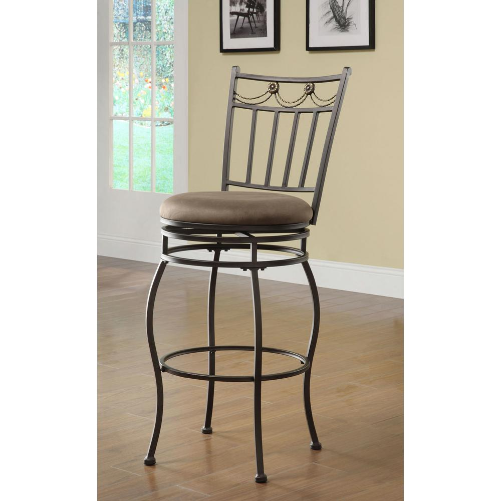 Home Decorators Collection Swag Swivel Bar Stool 02761mtl 01 Kd U The Home Depot
