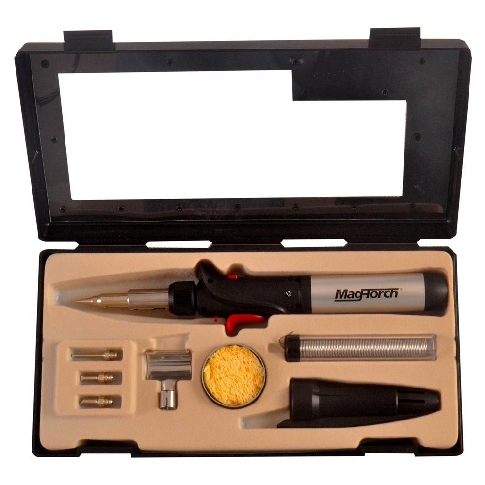 7-in-1 Micro Flame Pro Butane Soldering Kit