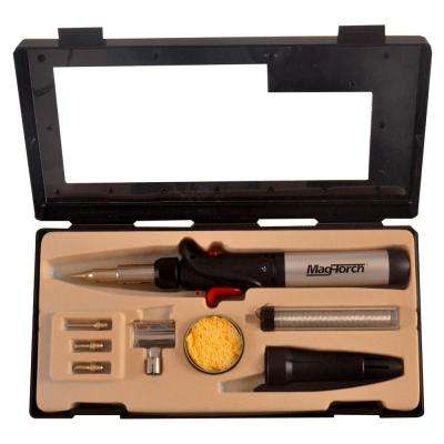 7-in-1 Micro Flame Pro Butane Soldering Kit