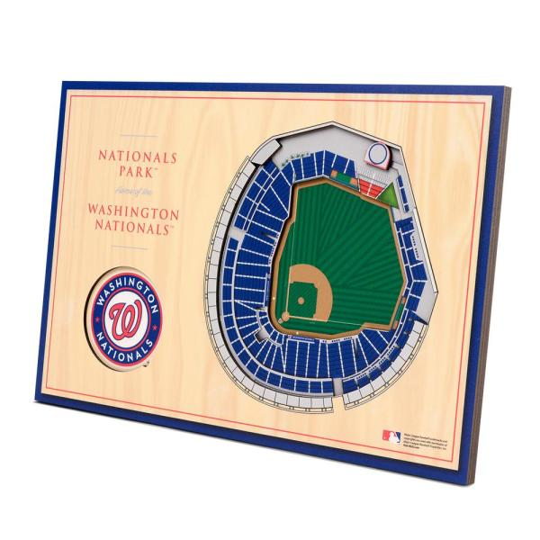 MLB Washington Nationals 3D StadiumViews Desktop Display - Nationals Park