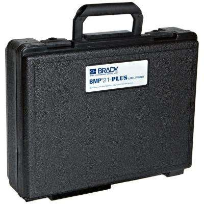 Hard-Sided Carrying Case for BMP21-Plus Portable Label Printer - Black