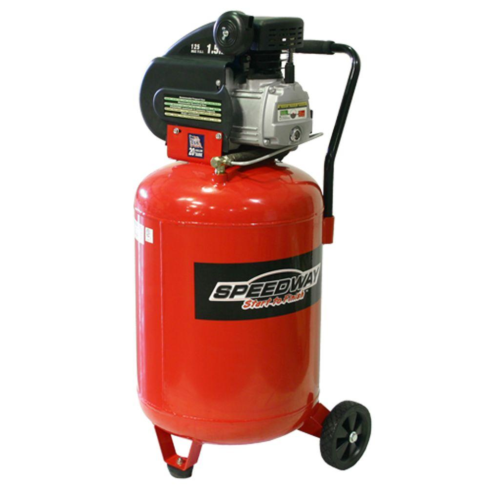 SPEEDWAY 20 Gal. 2 HP Vertical Air Compressor