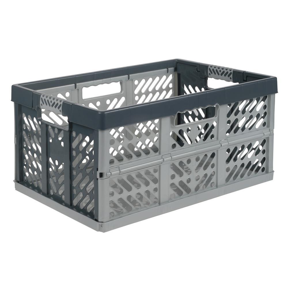 45L Folding Box-Silver