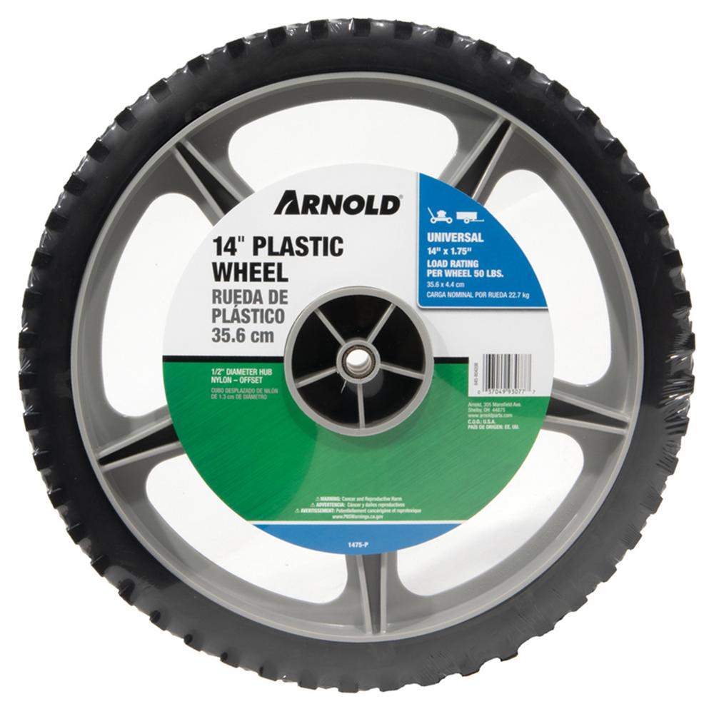 Arnold 14 in. Plastic Wheel
