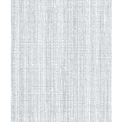 8 in. x 10 in. Audrey Light Blue Texture Wallpaper Sample