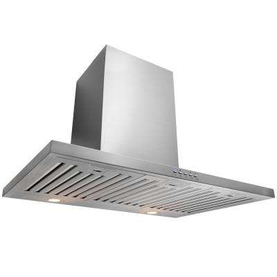 Caius 30 in. Convertible Wall Mount Range Hood in Stainless Steel
