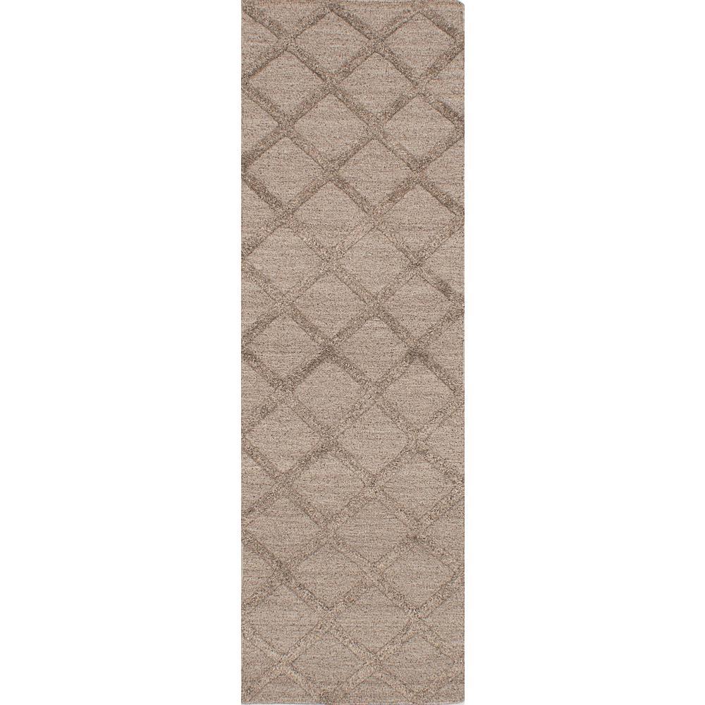 Cambridge Dark Cream Wool Kilim 2 ft. 6 in. x 8 ft. 2 in....