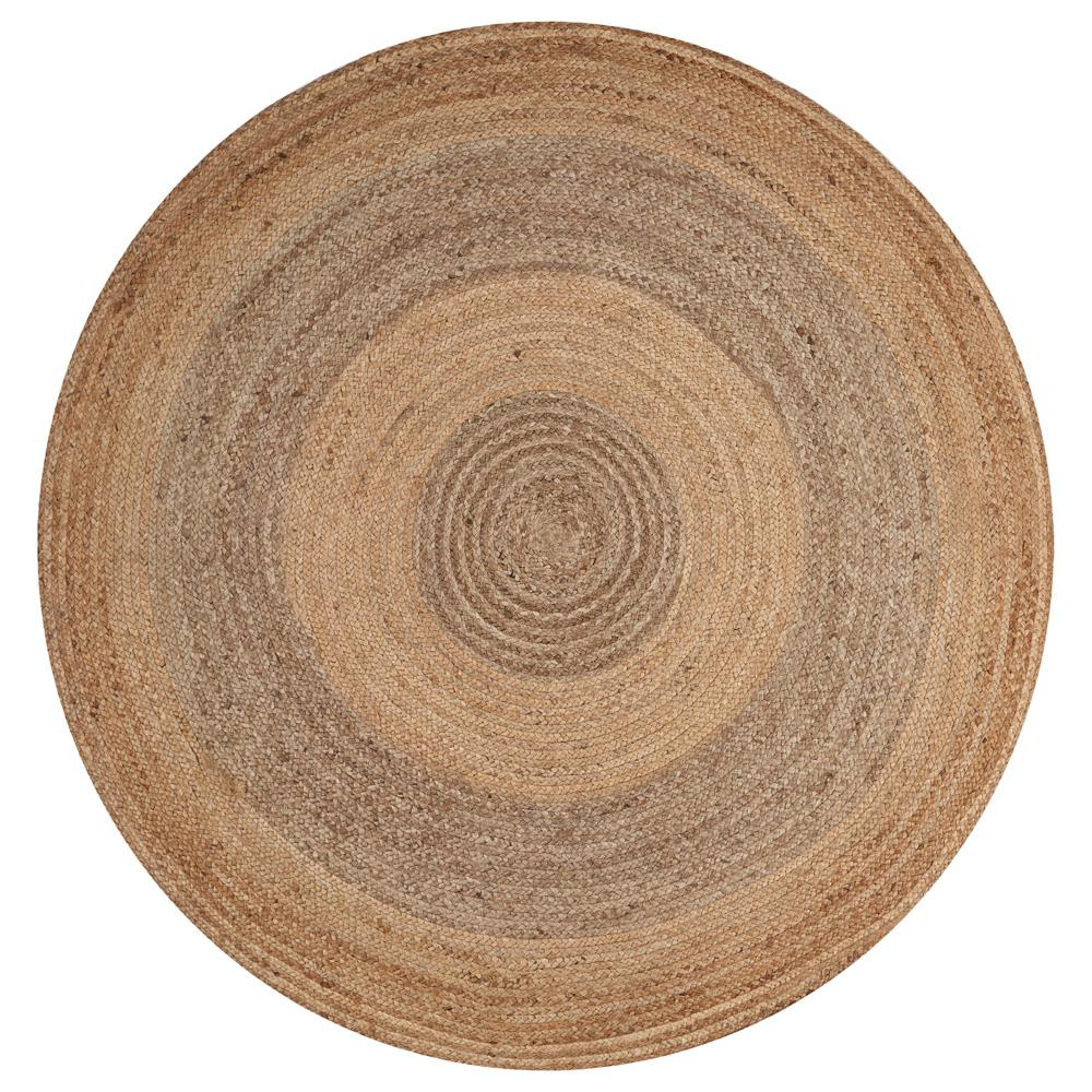 Prime Lr Resources Natural Jute Gray Round 4 Ft X 4 Ft Indoor Area Rug Download Free Architecture Designs Rallybritishbridgeorg