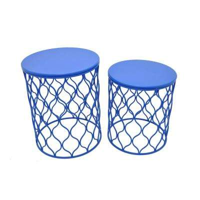 Metal Accent Table (Set Of 2)