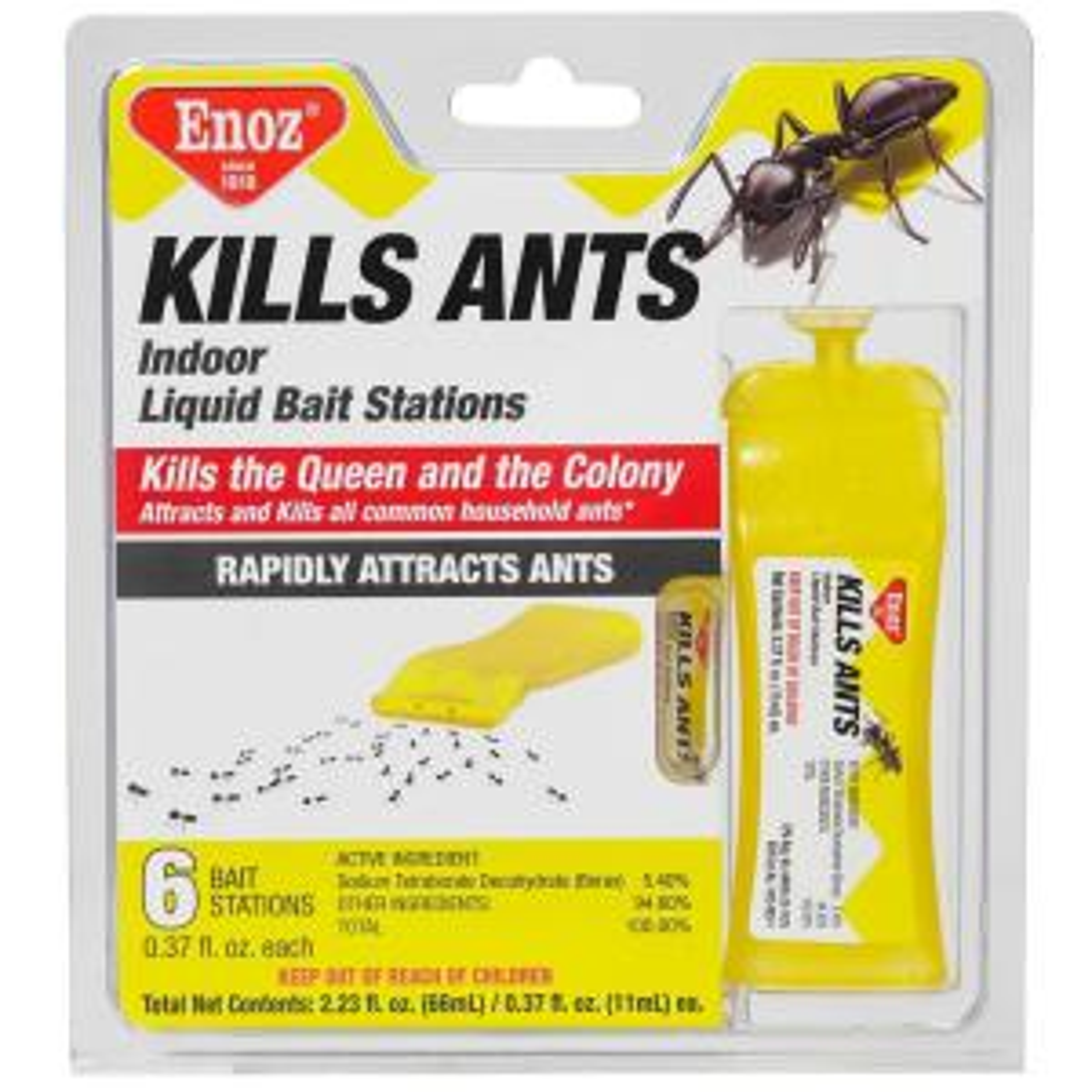 Enoz Kills Ants Liquid Ant Bait Stations (6-Pack) by Enoz
