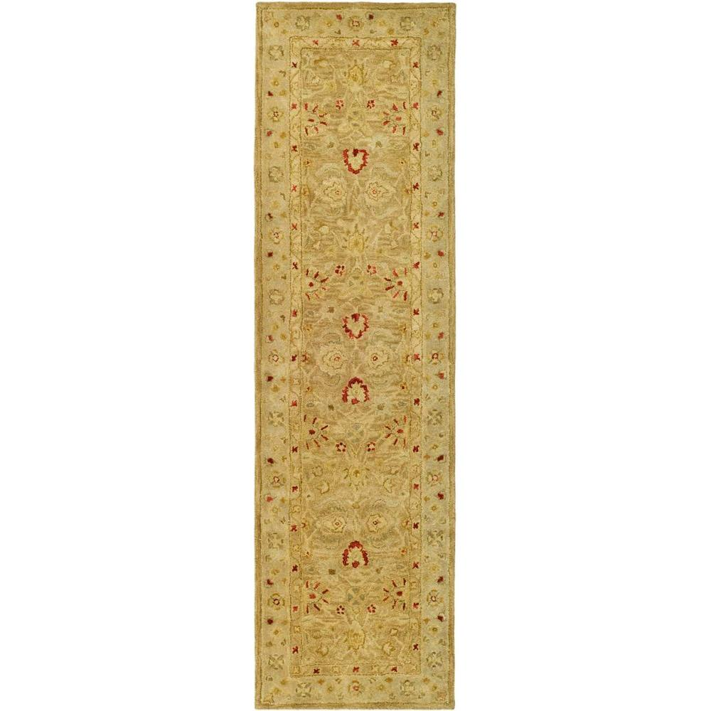 Safavieh Antiquity Brown/Beige 2 ft. 3 in. x 18 ft. Runner
