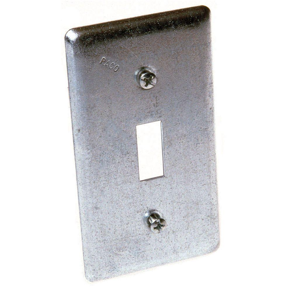 Single Gang Handy Box Cover for Toggle Switch (25-Pack)