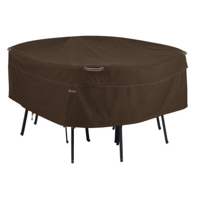 Madrona Large Rainproof Round Patio Table and Chair Set Cover