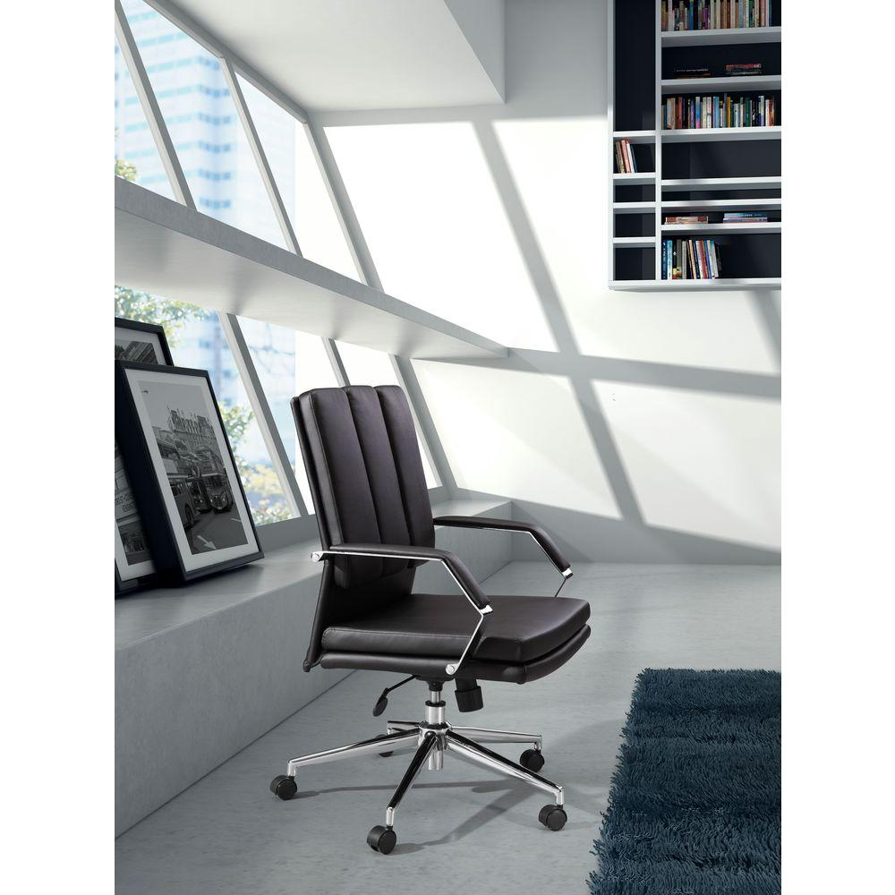 Zuo Director Pro White Office Chair