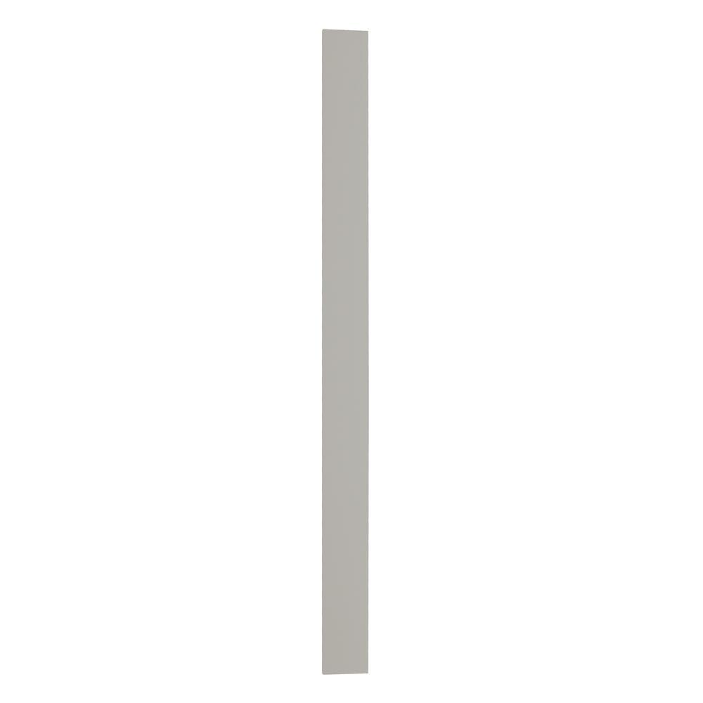 3x42x0.75 in. Cabinet Filler in Dove Gray