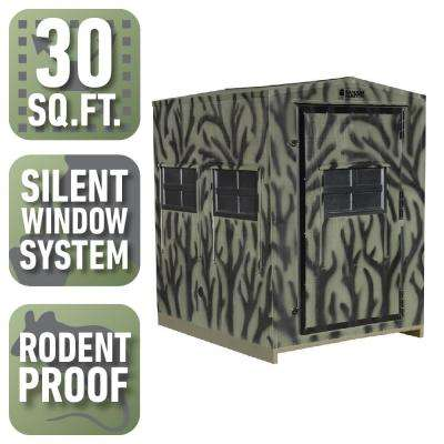 5 ft. x 6 ft. Insulated Gun and Crossbow Hunting Blind Kit (Assembly Required)