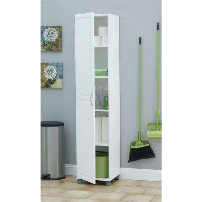 Kendall White Storage Cabinet