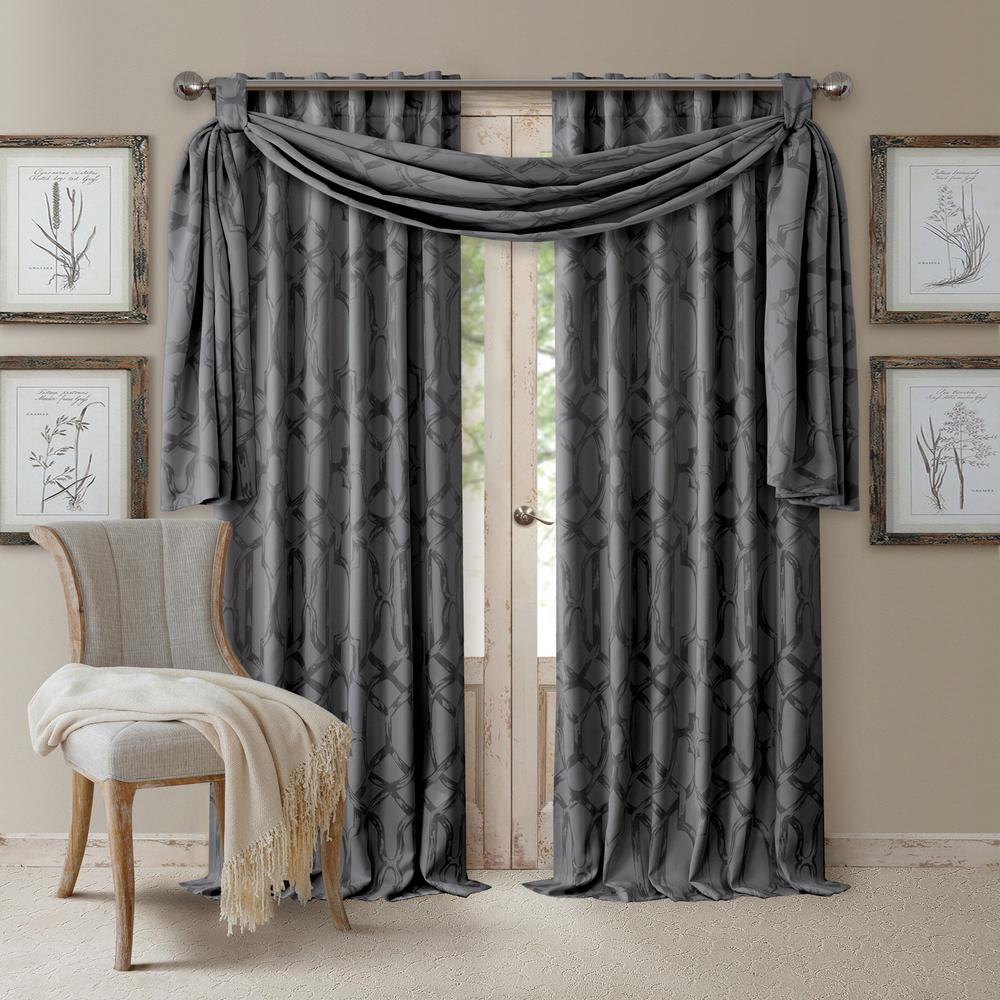 Elrene Darla Tonal Blackout Window Curtain