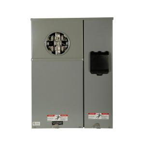 Eaton 200 Amp Type CH Commercial Meter Breaker Meter Socket Panel by Eaton
