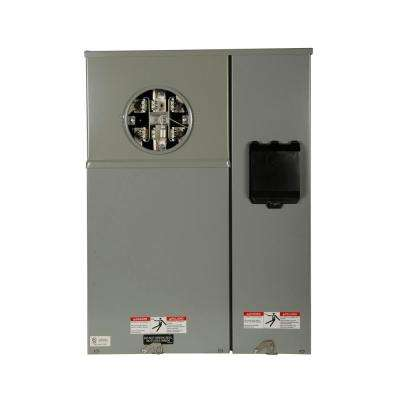 200 Amp Type CH Commercial Meter Breaker Meter Socket Panel