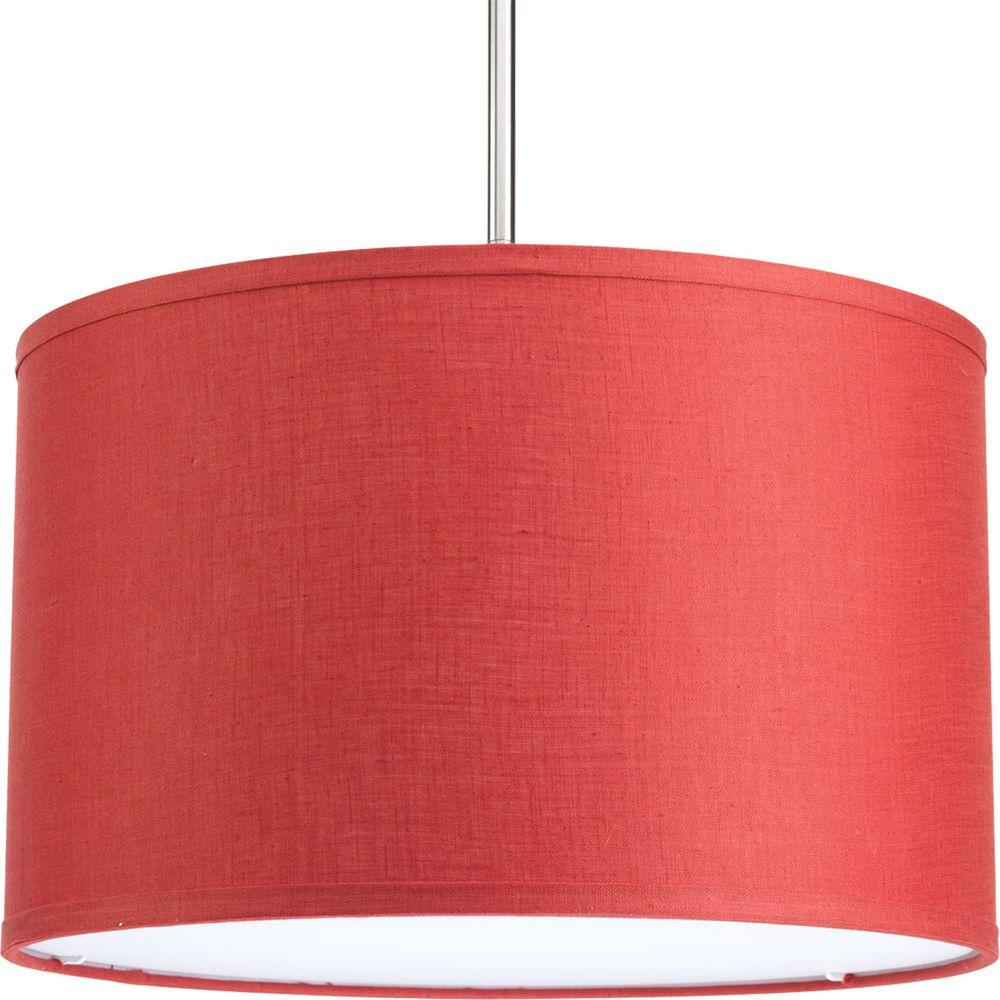 Markor Collection Crimson Fabric Accessory Shade