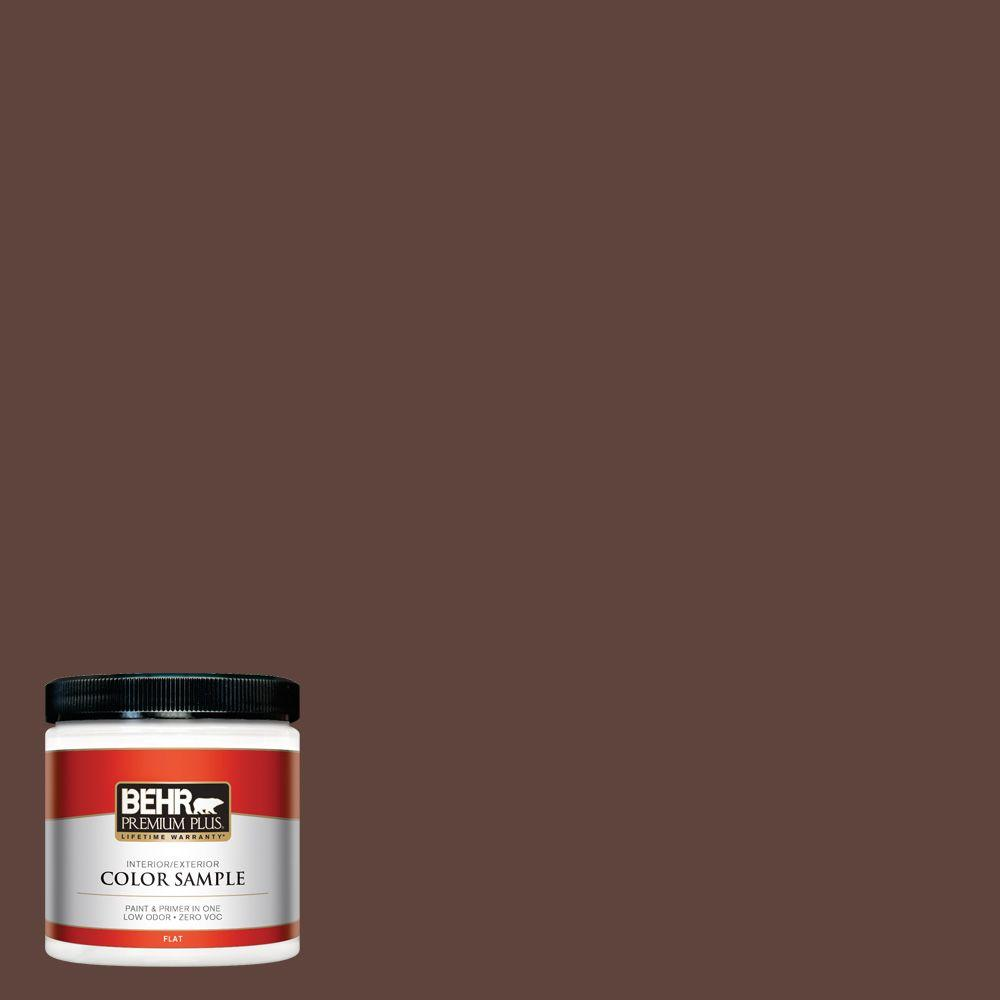 BEHR Premium Plus 8 oz. #S-G-780 Spiceberry Interior/Exterior Paint Sample
