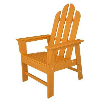 Long Island Tangerine Patio Dining Chair