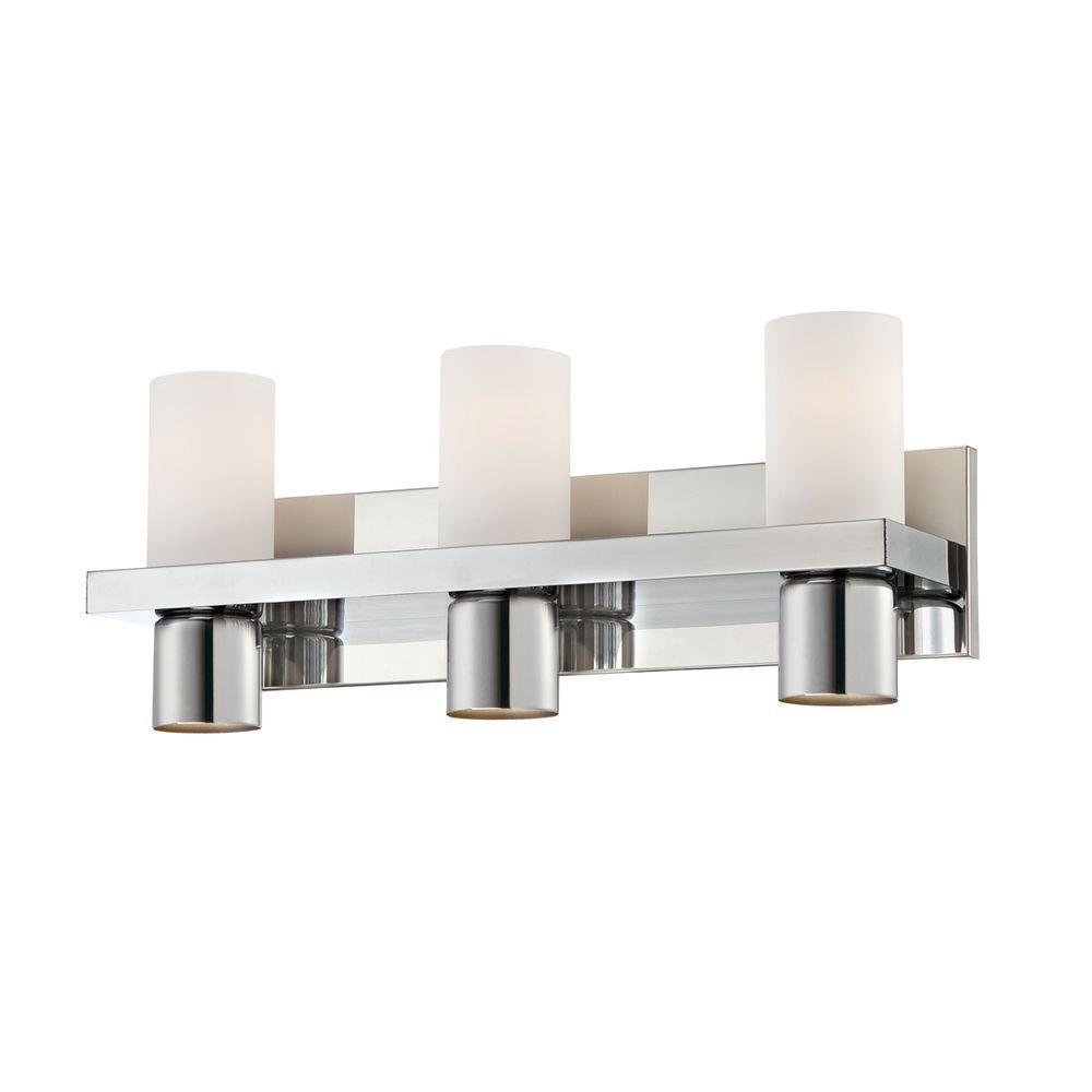 Eurofase Pillar Collection 6-Light Chrome Bath Bar Light-23278-035 ...