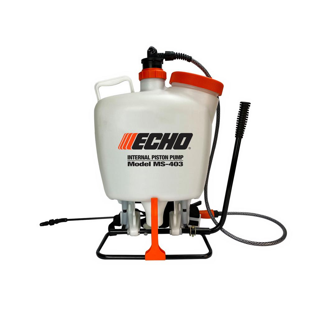 ECHO 4 Gal. Internal Piston-Pump Back Pack Sprayer