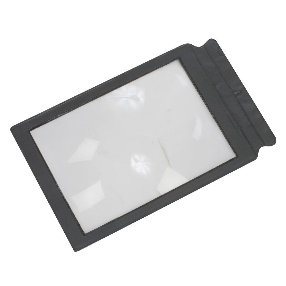 null Duro-Med Deluxe Framed Page Magnifier in Black