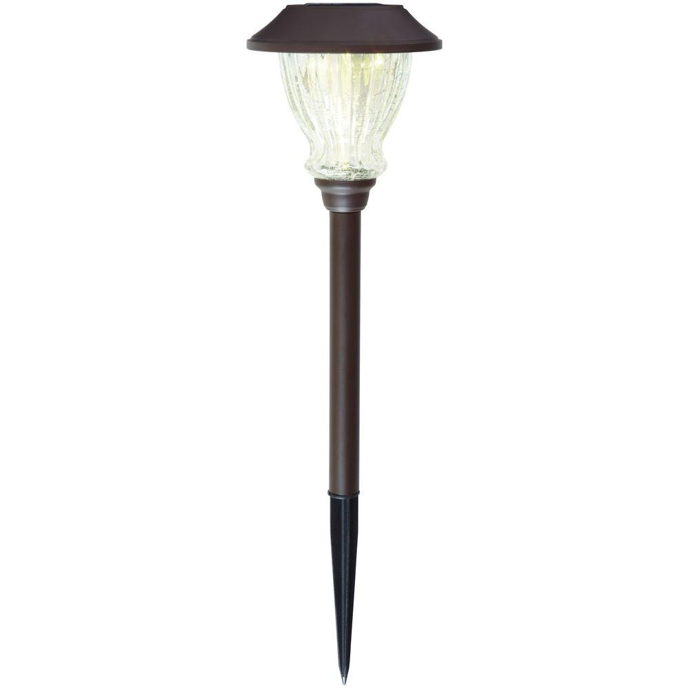 Solar Bronze Led Le Gl Outdoor