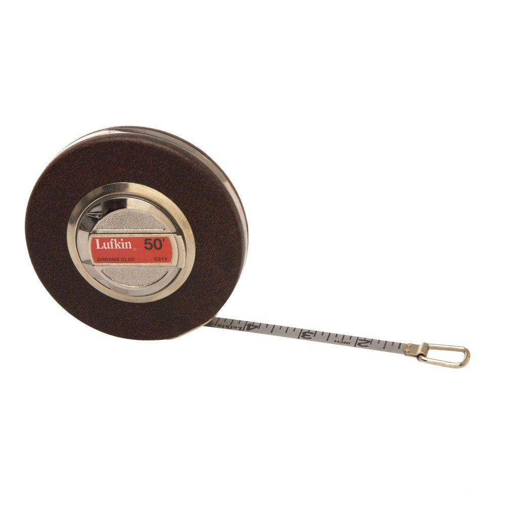 Lufkin Anchor 3/8 in. x 100 ft. Chrome Clad Tape Measure