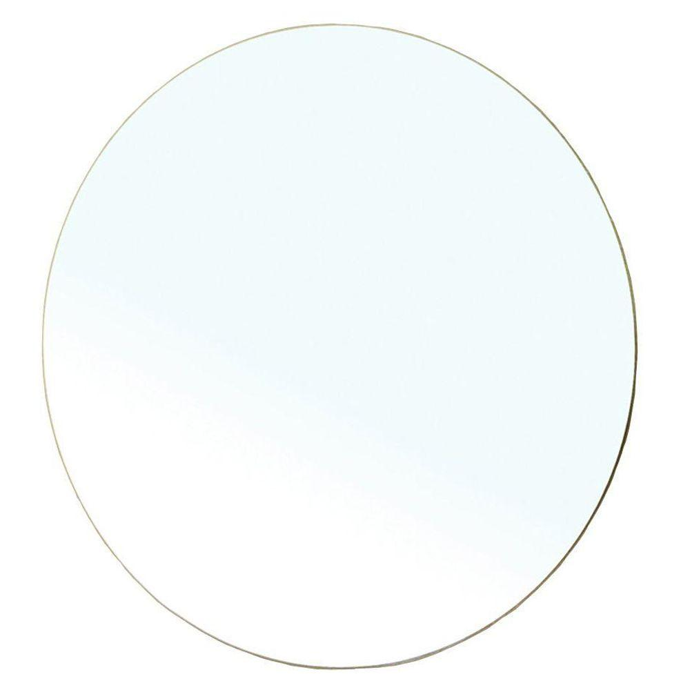 Bellaterra Home Albania 28 in. L x 28 in. W Wall Mirror