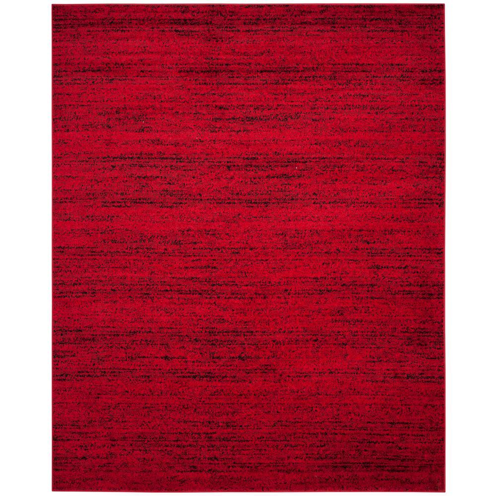 Adirondack Red/Black 9 ft. x 12 ft. Area Rug