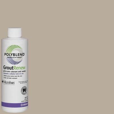 Polyblend #386 Oyster Gray 8 oz. Grout Renew Colorant