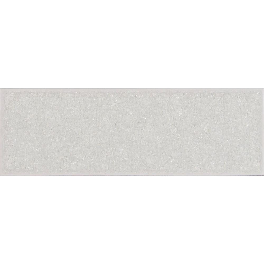 MS International Frosted Icicle 3 in. x 9 in. Glass Wall Tile-GLGG ...
