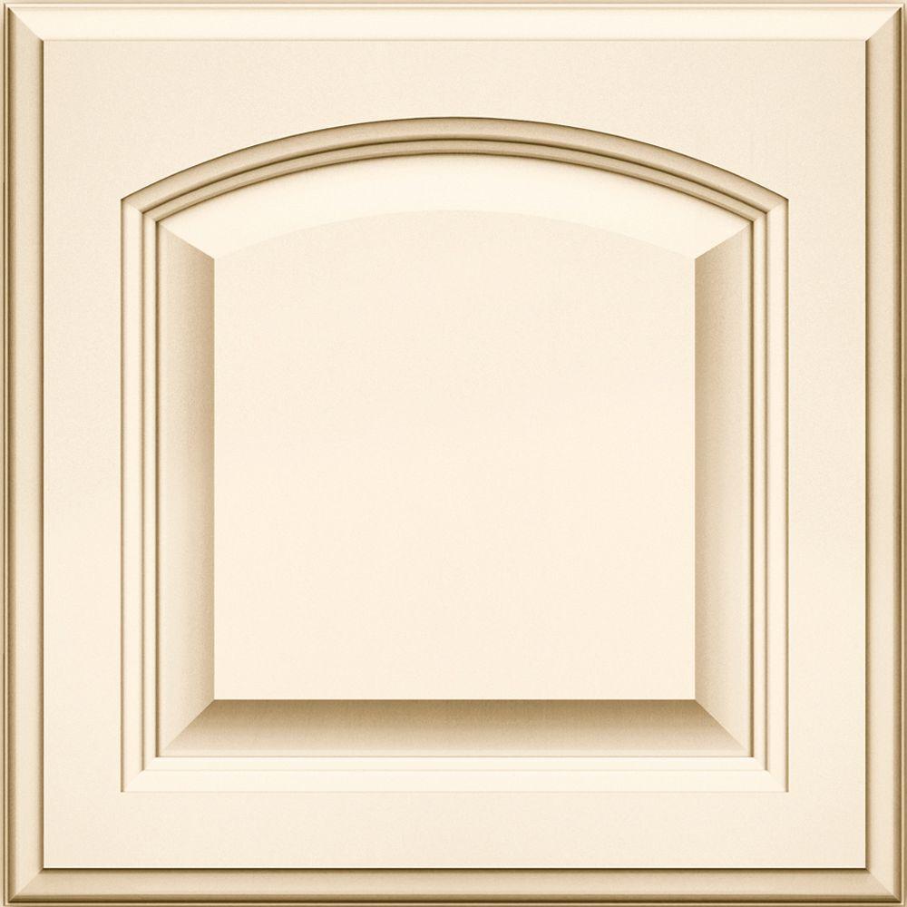 KraftMaid 15x15 In. Cabinet Door Sample In Stratford Maple