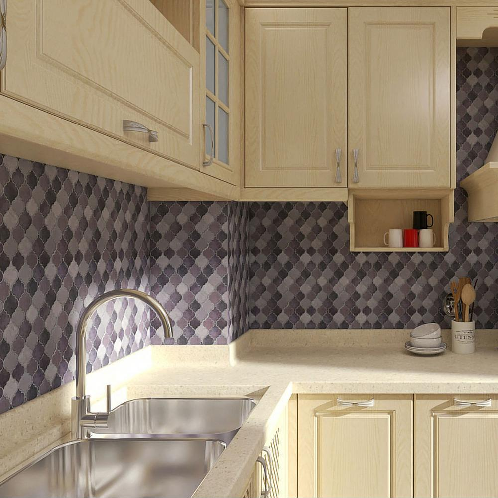 Vinyl L And Stick Backsplash