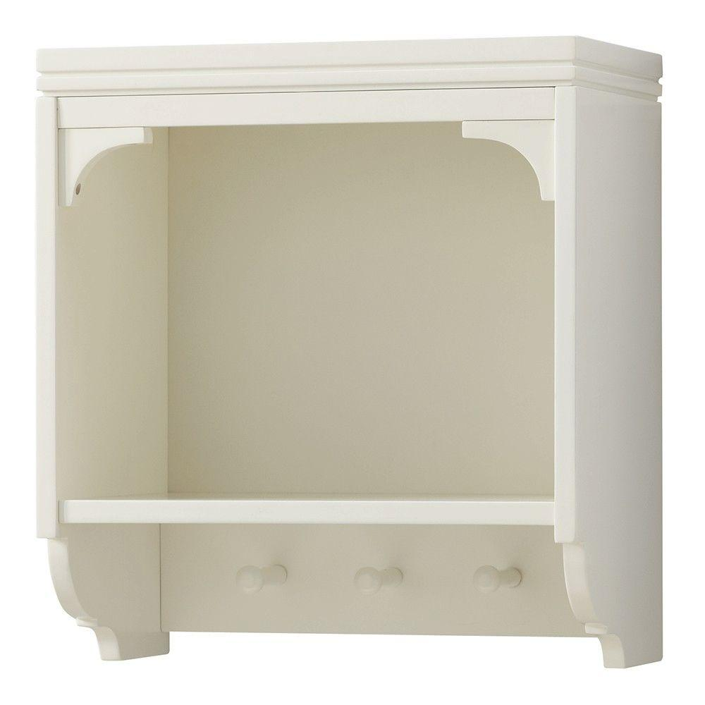White - Bathroom Shelves - Bathroom Cabinets & Storage - The Home Depot