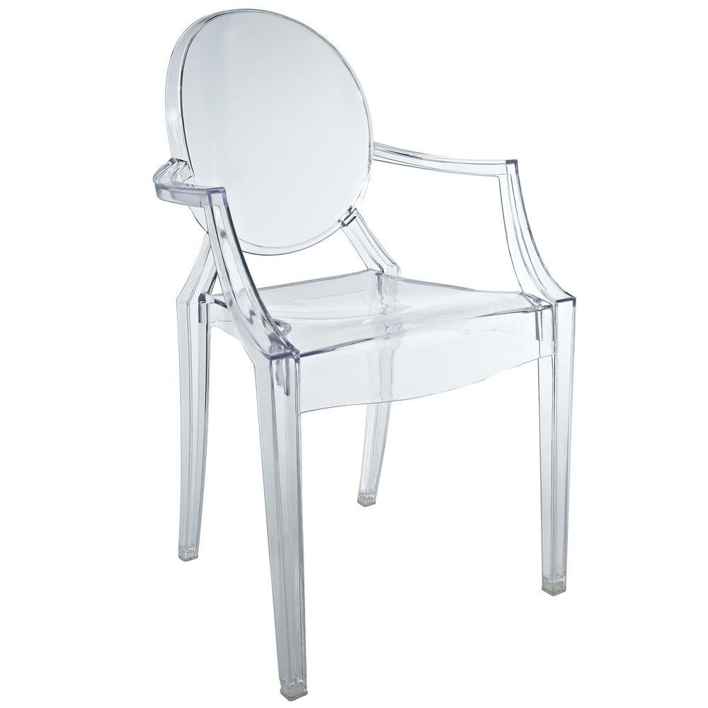 Casper Clear Acrylic Kids Chair