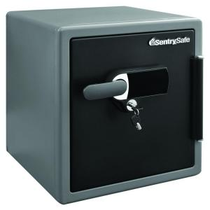 steel fire and water resistant digital alarm safe black sentrysafe - Sentry Safe Models