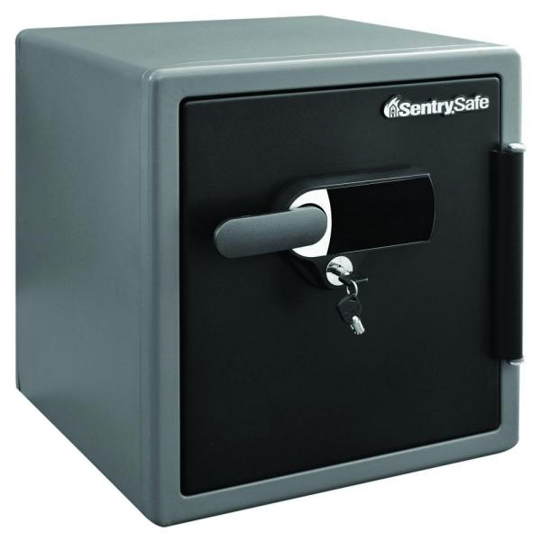 1.23 cu. ft. Fire and Water Safe, Extra Large Touchscreen Safe with Dual Key Lock and Alarm