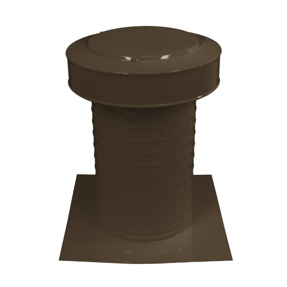 8 in. Dia Keepa Vent an Aluminum Static Roof Vent for