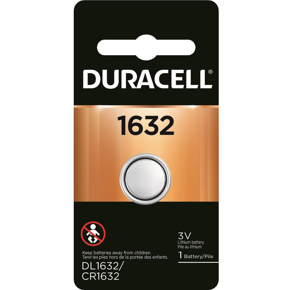 Duracell Coppertop 1632 Lithium 3-Volt Coin Battery